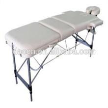 sofá de massagem com perna de alumínio