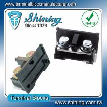 TE-200 600V 200A M10 Schraube Din Schiene Oberflächenmontage Klemmenbrett