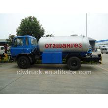 Поставка завода Dongfeng 15m3 бензин газовый баллон цены, 4 * 2 грузовика грузовика