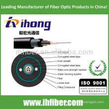 fiber optical Armored and Sheathed Double Central Loose tube Cable (GYXTW53)