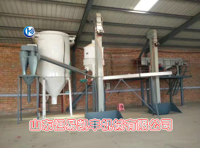 screening packaging, winnowing system