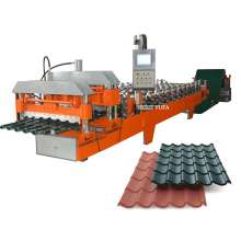 building material machinery for iron tile sheet making machine