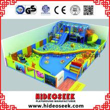 Sea Theme Indoor Spielplatzgeräte mit Babybereich