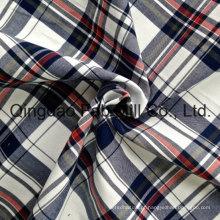Shirting tecido de algodão fios tingidos (QF13-0216)