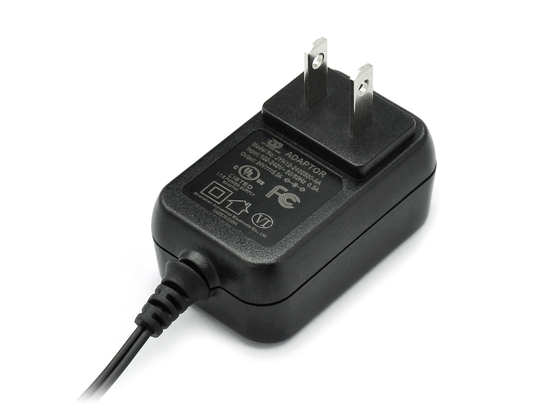 12V 1A 24V 0.5A Switching Power Adapter US Plug