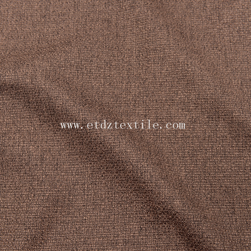 Polyester Sofa Household Textile Upholstery Fabric