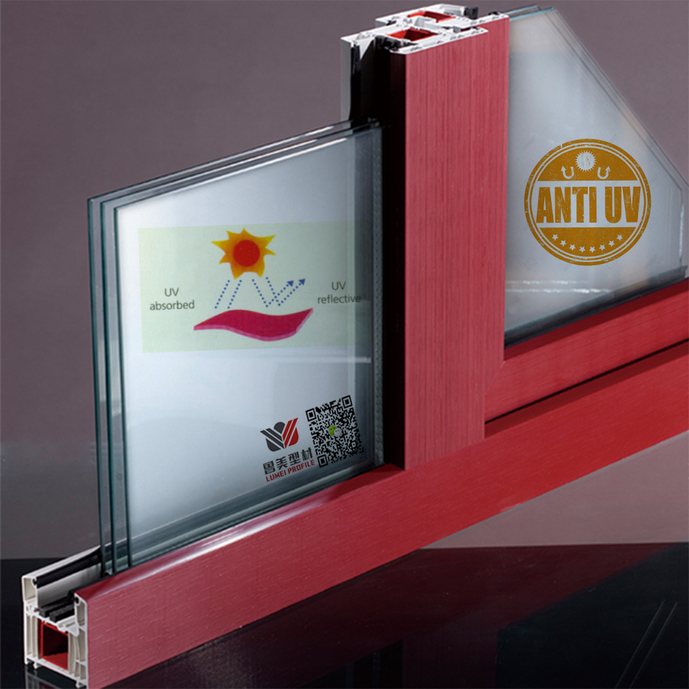 Anti Uv Upvc Profiles