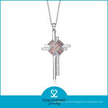 2016 Luxus Silber Halskette für Frauen (N-0078)