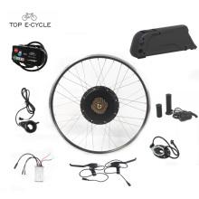 Alta qualidade de 28 polegadas 48 V 1000 W bicicleta kit motor elétrico / kit de conversão de bicicleta Elétrica