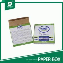 China-Lieferant druckte Fischen-Knoten / Vorfächer Fishook-Papierverpackenkasten