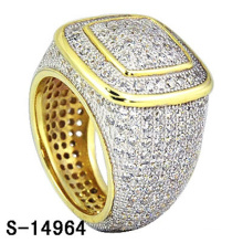Bijoux de mode de haute qualité 925 bague en argent sterling avec diamant