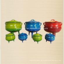 # 1/4, # 1/2, # 3/4, # 1 Gusseisen Potjie Pot Hersteller aus China