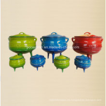 # 1/4, # 1/2, # 3/4, # 1 Pot de hierro fundido potjie Fabricante de China