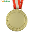 Custom Blank Zinklegierung Metall Production Award Medaille
