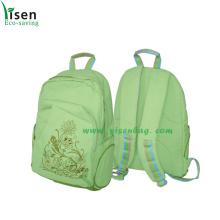 600d Green Backpack Bag (YSBP-008)