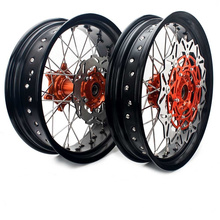 New Design Custom Motorcycle Rims Supermoto Wheels 17 18 19 21 Inch