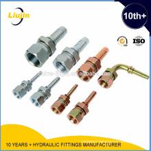 Ningbo Yinzhou Liujin manufacture hydraulic hose end fittings