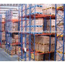 heavy duty warehouse factory storage double-deep pallet racks