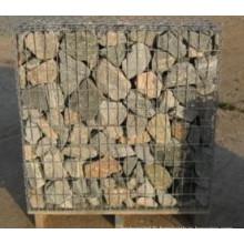 Vente pas cher Cage en pierre de boîte de Gabion de treillis métallique de mur de soutènement