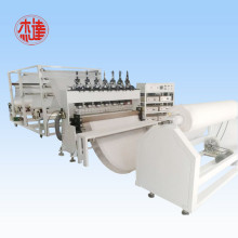 Automatic ultrasonic lamination machine for diaper