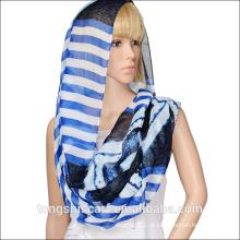 lenço barato da infinidade do lenço 100 do tubo da forma lenço da infinidade com impressão personalizada