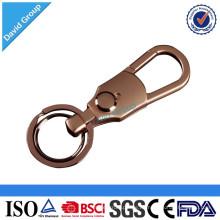 Alibaba Certified Top Supplier Großhandel Benutzerdefinierte Werbe Metal Leather Keychain