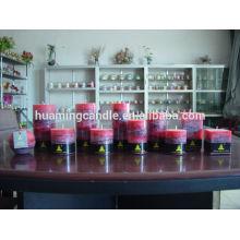 Huaming Kerzen / Großhandel White Pillar Kerzen / große Säule Kerze für Haus Dekoration