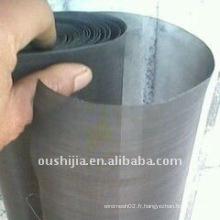 Tissu en fer noir vendu à chaud (directement de l'usine)