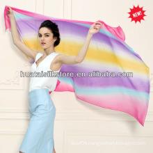 100 Silk Georgette 2014 New Lady Long Scarf