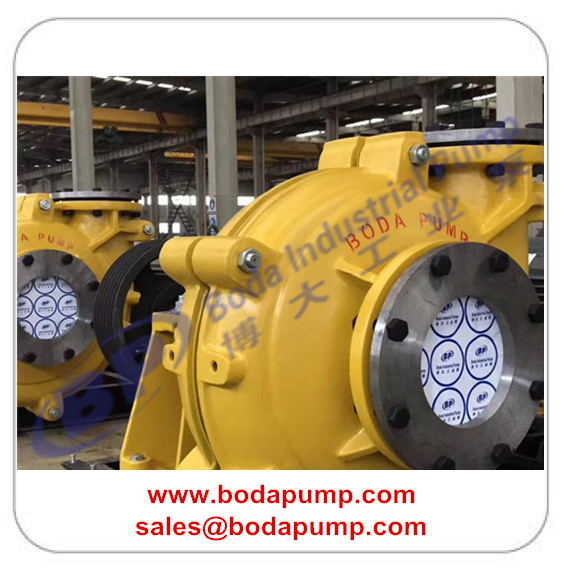 slurry pump with belt drive