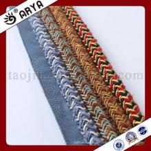 Spezielle Design gewebte dekorative Seil für Sofa Dekoration oder zu Hause Dekoration Zubehör, dekorative Schnur, 6mm