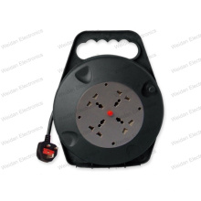 13A, 250V British Power Cable Reel Box,
