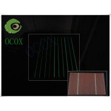 Fluorescent Light WPC Decking Floor