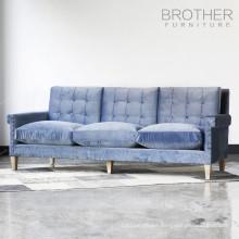 Upholstery fabric furniture seating sofa / threeseat sofa