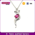 Love Heart Necklace/Sparkling Crystal Necklace #11218