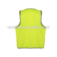 working protection, security & safety equipments,safety vests,120GSM polyester tricot