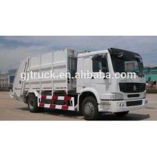 Camión de basura de 6x4 RHD Sinotruk HOWO / camión de basura compacto / howo camión de basura / camión comprimido