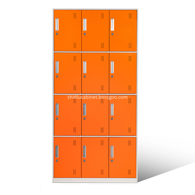 Narrow Frame 12 Door Locker 1