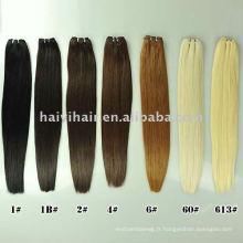 Bohyme Top qualité Remy cheveux humains