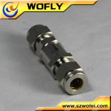 """3000PSI Alta Pressão Aço Inoxidável 316 1/4 """"válvula de retenção"""