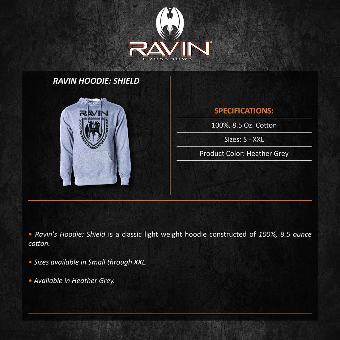 Ravin_Hoodie_Shield_Product_Description