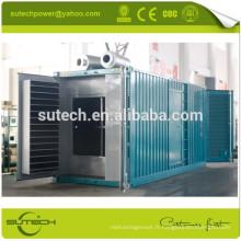Générateur diesel 1mw conteneurisé actionné par le moteur de CUMMINS KTA50-G3, type Containerized ou type ouvert