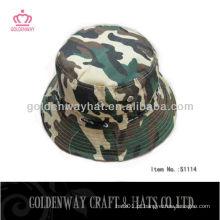 Chapéu de balde de camuflagem