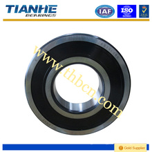 Low noise low libration deep groove sealed ball bearing