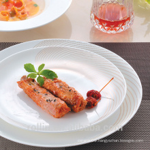 New design unbreakable 11pcs china porcelain dinnerware sets