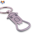 Personalized customty custom logo keychain pembuka botol