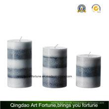 Handmade Scented Pillar Candle for Wedding Decor