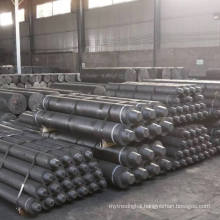 China Manufacturer High Electric Conductivity UHP Graphite Electrode 600mm X2400mm