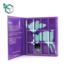 Cardboard Book Shaped Christmas eyeshadow powder Gifts Book Box