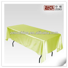 Hot selling design direct factory made wholesale custom rectangle glitter table cloth